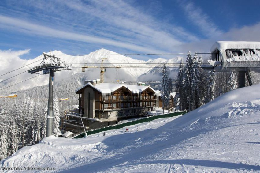 Близ одного из горнолыжных курортов Красной Поляны задержаны нарушители правил пограничного режима