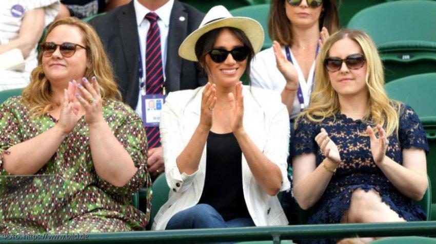 Меган Маркл посетила Уимблдонский турнир, но без принца Гарри