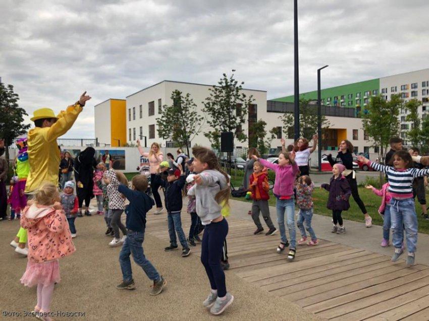 В Новой Москве проходят интерактивные программы для детей
