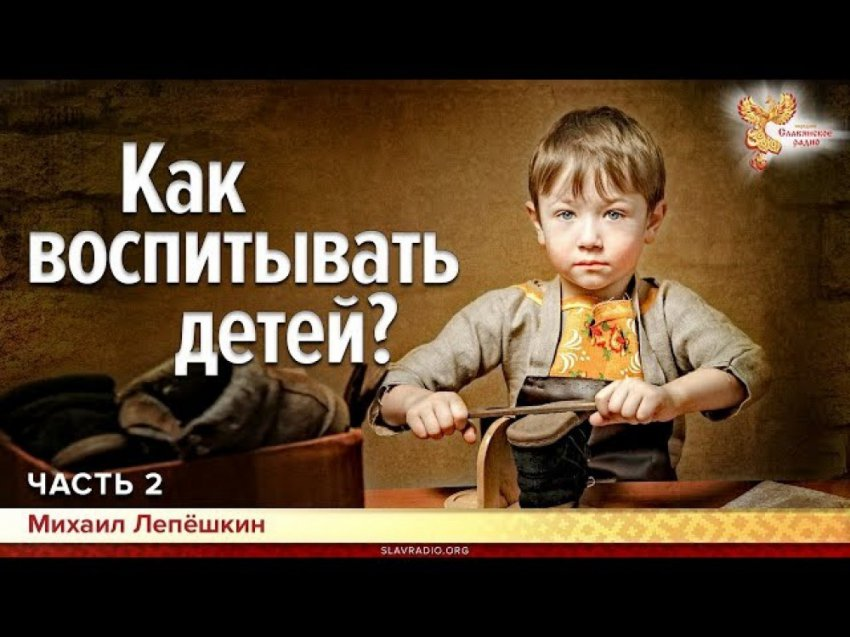 Как воспитывать детей. Михаил Лепёшкин. Часть 2