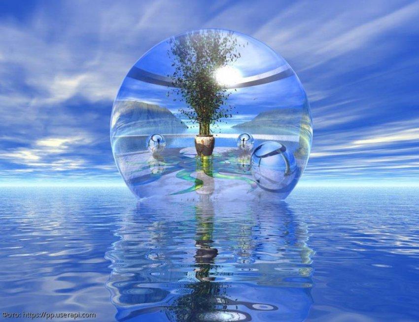 Чистая вода - источник положительной энергии