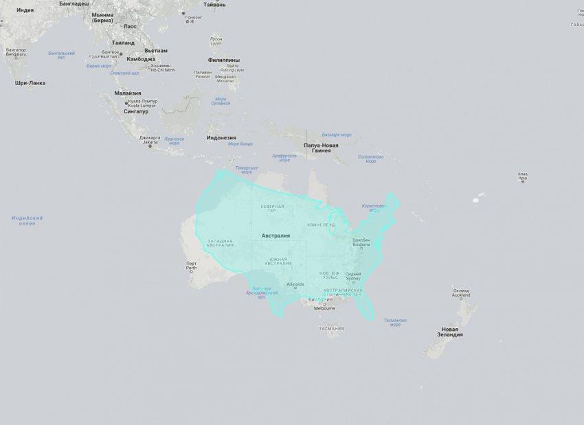 16 карт, переворачивающих старое представление о размерах стран и материков