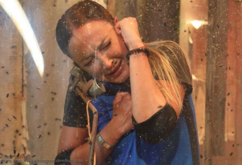 Ольга Бузова получила травму и расплакалась на съемках «Форт Боярд»