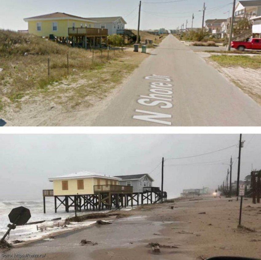 11 фото в стиле «до и после», где виден ход времени