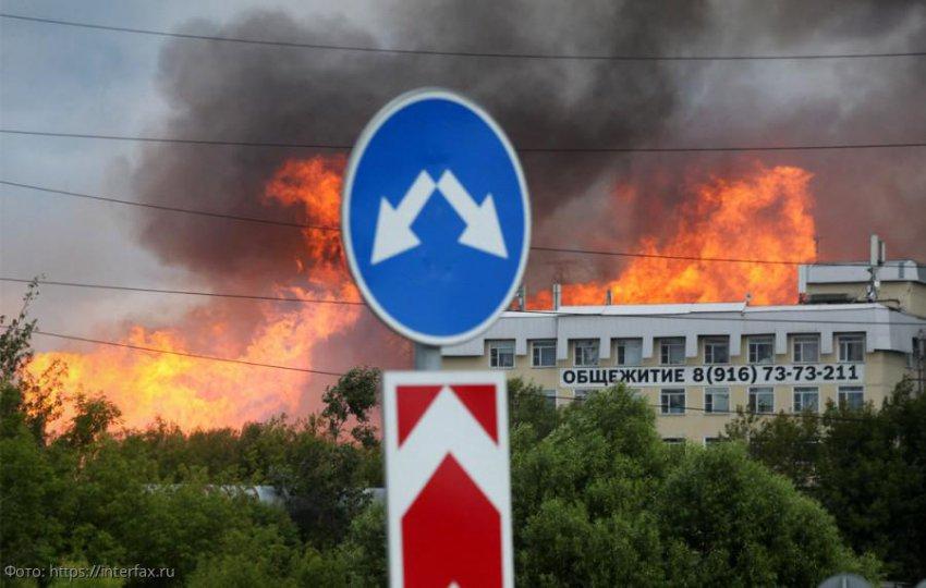 Двенадцать человек пострадали при крупном пожаре на ТЭЦ в Мытищах