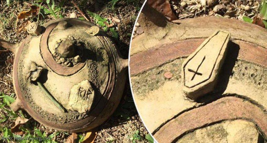 Австралийка купила дом и нашла в нем «проклятый артефакт»