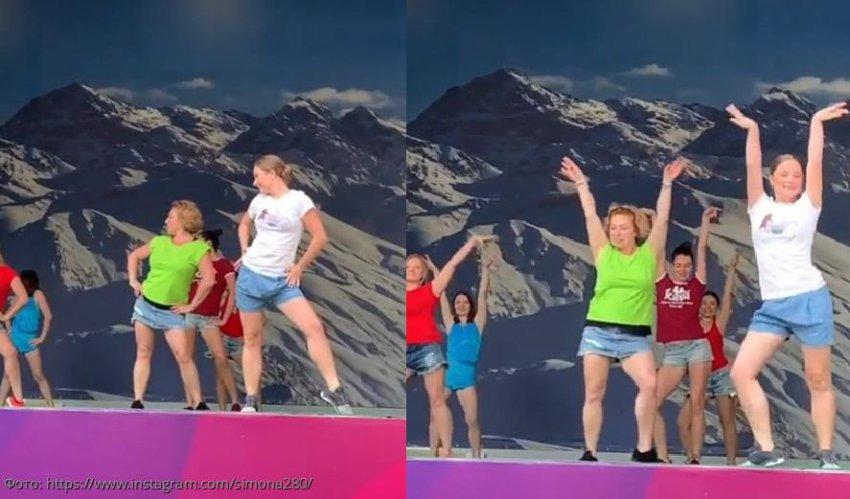 60-летняя мама Тимати исполнила зажигательный танец в мини-юбке