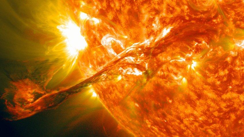 НАСА: Землю поразят вспышки, температура которых будет достигать 1 500 000 градусов по Цельсию