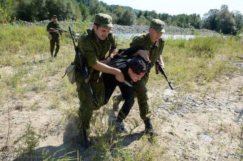 В приграничном районе Сочи задержан нарушитель правил пограничного режима