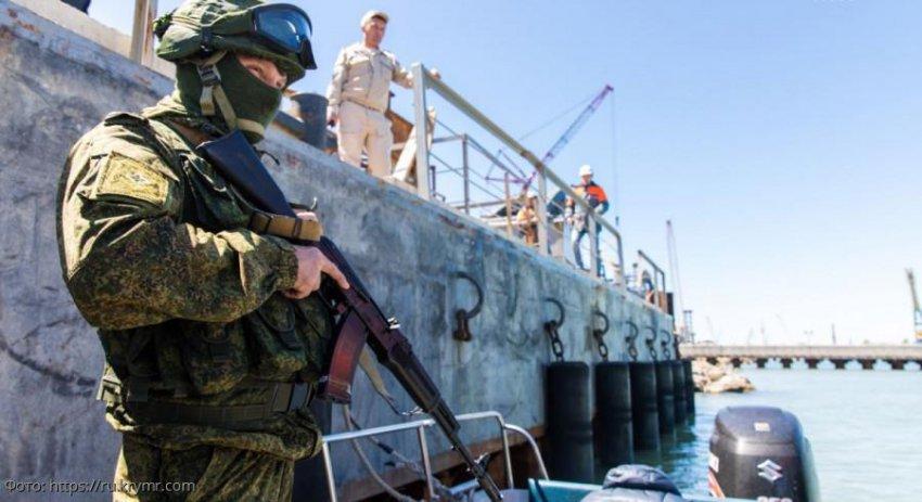 В черноморской акватории близ Анапы задержаны нарушители правил пограничного режима