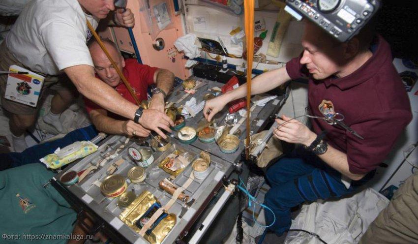 Американские астронавты попросили доставить им на МКС российские продукты