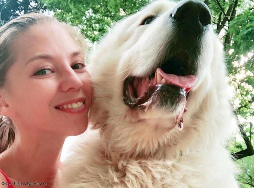 Собака Ирины Салтыковой едва не загрызла её дочь Алису