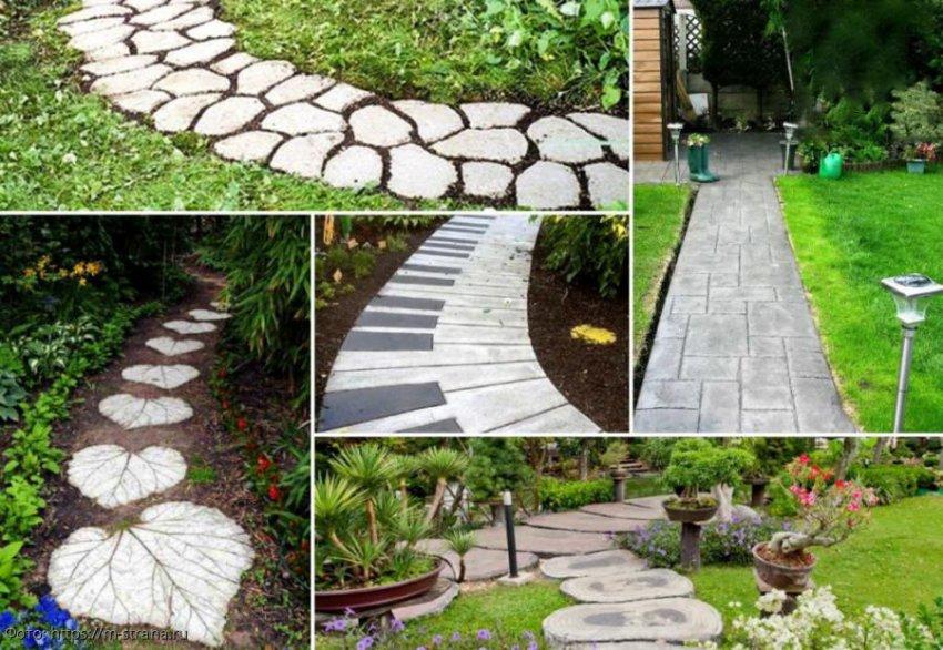 Садовая дорожка своими руками: как правильно выложить тротуарную плитку на даче