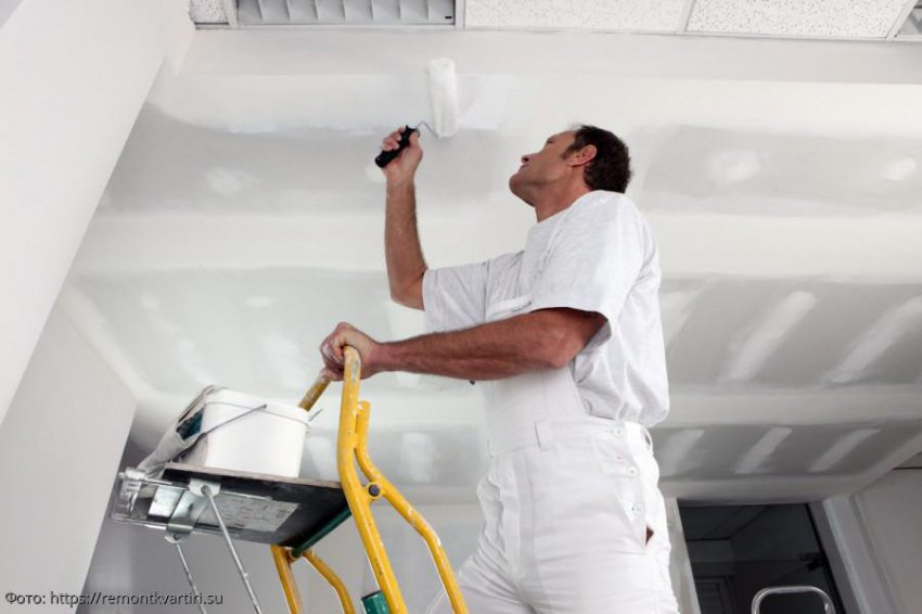 Обои, краска или ПВХ: плюсы и минусы материалов для ремонта потолка