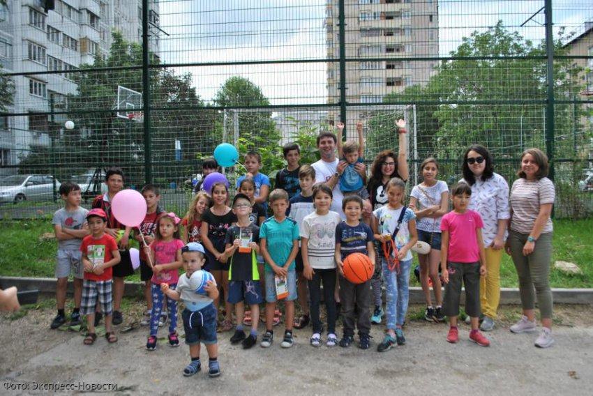 Дети Кисловодска приняли участие в акции «За здоровый образ жизни»