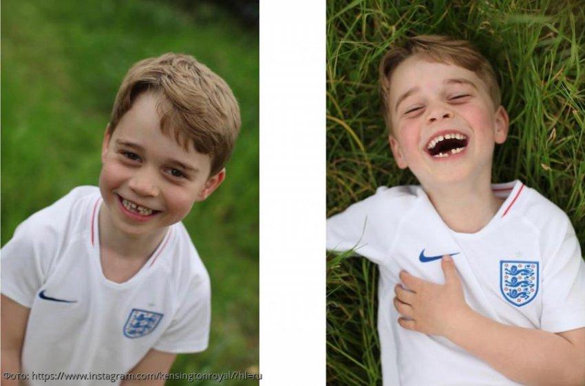 Опубликованы новые фото принца Джорджа, которому сегодня исполнилось 6 лет
