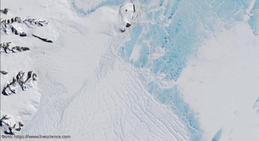 Массивные снежные пушки могут спасти ледяной покров Западной Антарктиды
