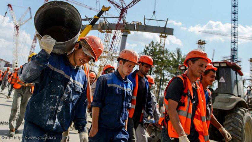 В России наблюдается увеличение количества мигрантов