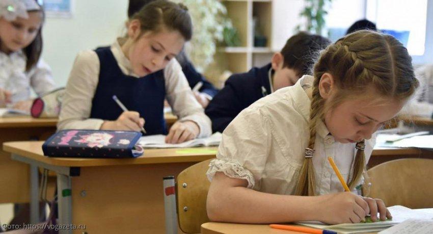 Путин поручил сократить использование тетрадей в школе