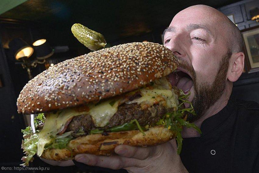 Москвичи готовятся к Дню гамбургера