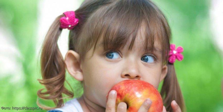 Австрийские ученые нашли в яблоке 100 миллионов бактерий