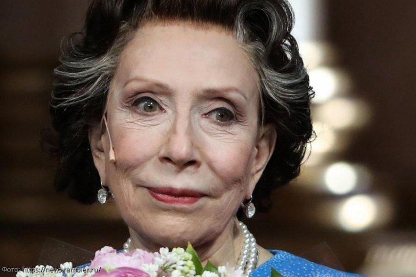Стали известны подробности о состоянии здоровья 75-летней Инны Чуриковой