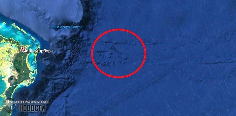 «Подводная инопланетная база» в районе Багамских островов | Загадки планеты Земля | Паранормальные новости