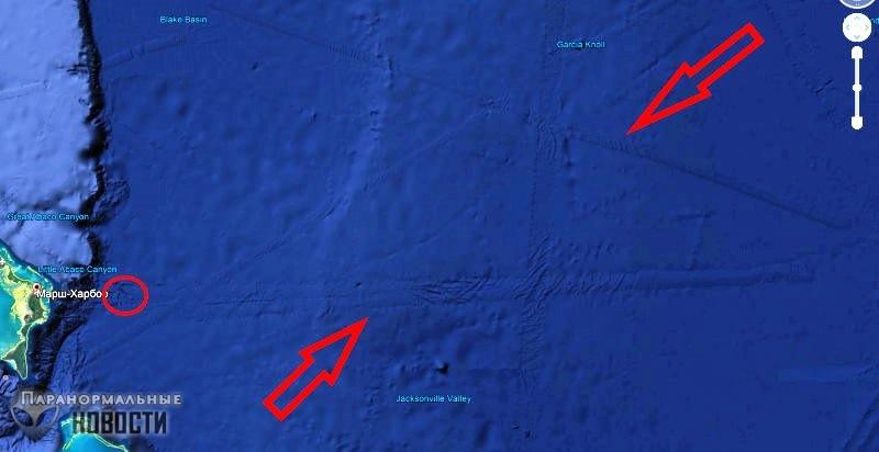 «Подводная инопланетная база» в районе Багамских островов   Загадки планеты Земля   Паранормальные новости