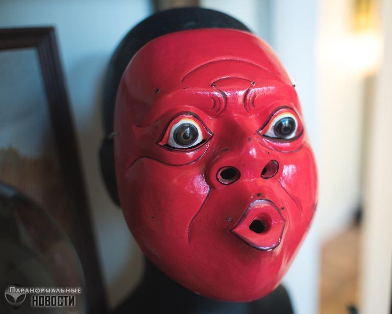 Маски со злыми духами | Мистика | Паранормальные новости