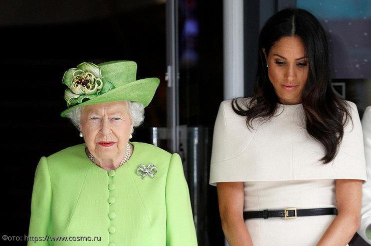 Королева вынесла предупреждение Меган Маркл из-за ее социальной активности
