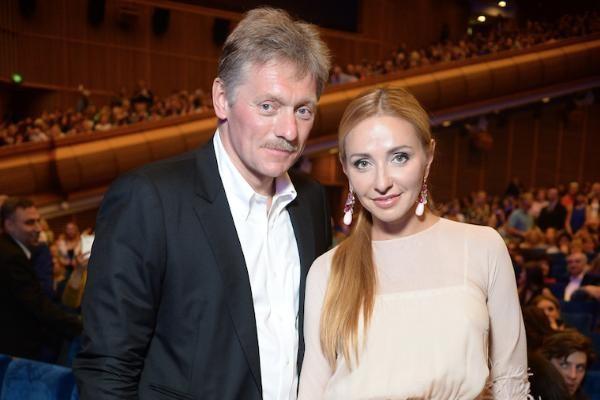 Навка поблагодарила Пескова за годы совместной жизни