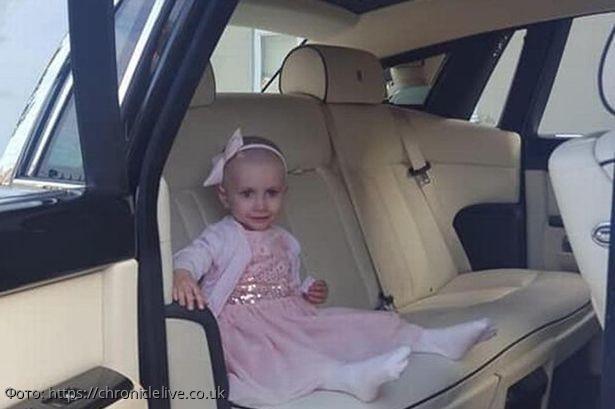 Родители устроили выпускной бал для трехлетней дочки, ведь болезнь второго шанса уже не даст