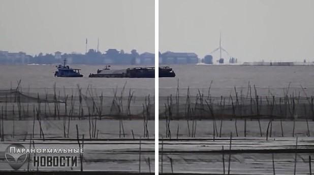 Хрономираж? На озере в Китае засняли странный «город-призрак» | Загадки планеты Земля | Паранормальные новости
