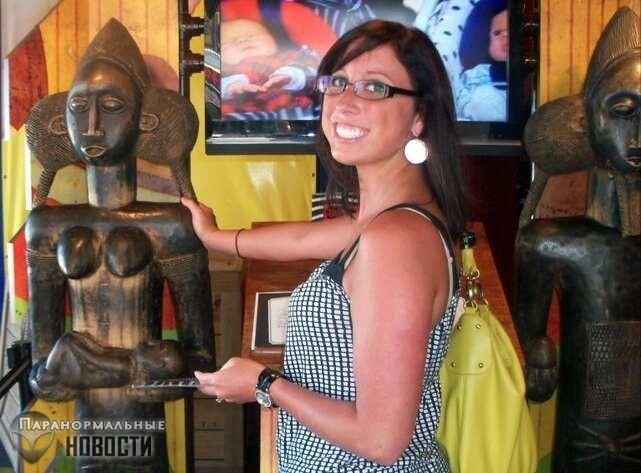 Если коснуться этой африканской статуи, то обязательно забеременеешь. Тысячи женщин это подтверждают! | Мистика | Паранормальные новости