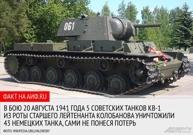 Двадцать два против одного. Подвиг танкиста Колобанова, о котором не забыть