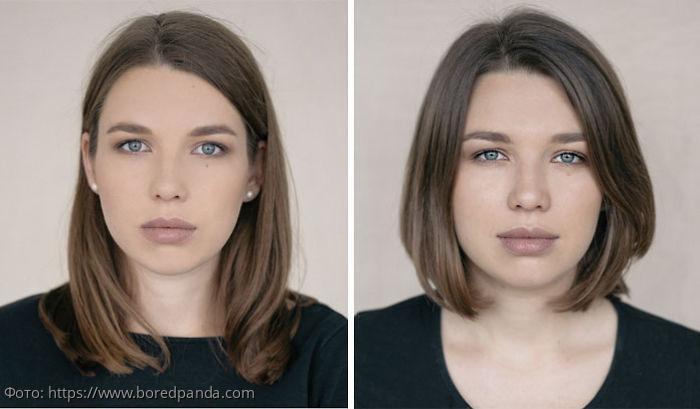 10 фотопортретов, показывающих женщин до и после материнства