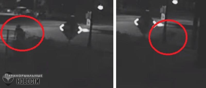 В Юте засняли странного человека, возникшего из ниоткуда и исчезнувшего спустя несколько секунд | Любопытное видео | Паранормальные новости
