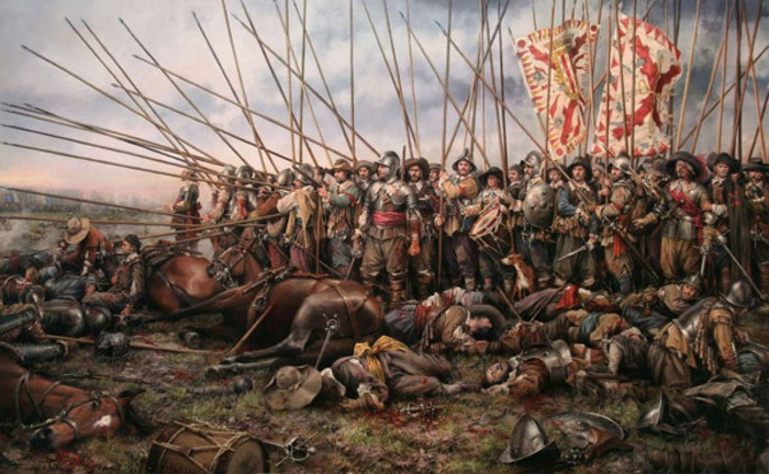 Бездоспешная эпоха: Как защищались европейские солдаты без брони?