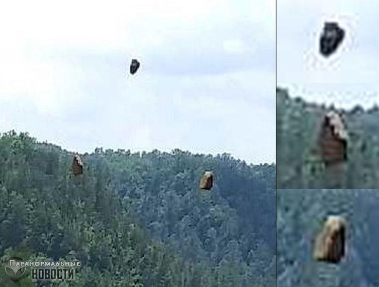 Сбой в Матрице? Турист заснял парящие в воздухе камни | Загадки планеты Земля | Паранормальные новости