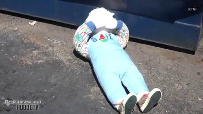 По американскому городку кто-то разбрасывает жутких кукол без голов | Прочее | Паранормальные новости