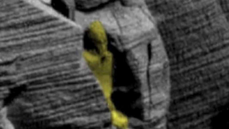 Древние египтяне прилетели с Марса: уфолог нашел на снимке Красной планеты «саркофаг»