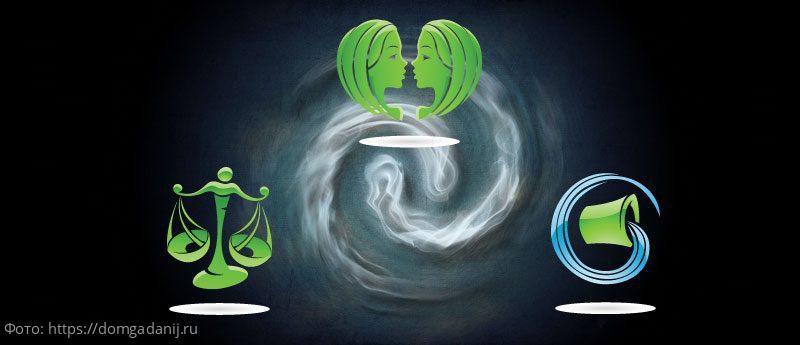 Слабости знаков зодиака стихий Воздуха и Воды