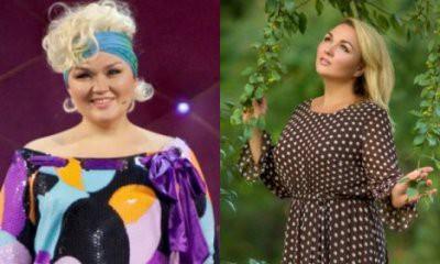 Надежда Ангарская показала фото до и после похудения