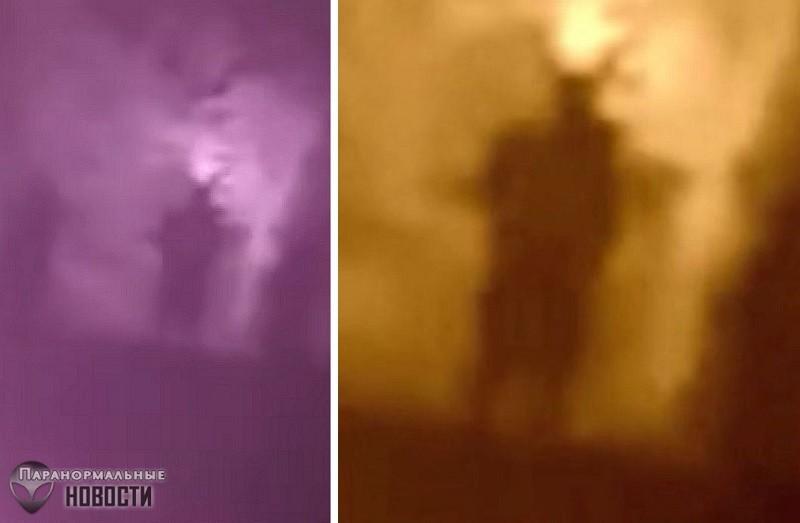Человека-Мотылька засняли на кладбище | Загадочные существа | Паранормальные новости