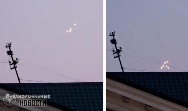 В Крыму засняли скопление светящихся НЛО | НЛО и пришельцы | Паранормальные новости
