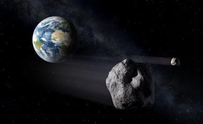 Сегодня к Земле приблизится астероид 2019 OU1 диаметром 160 метров