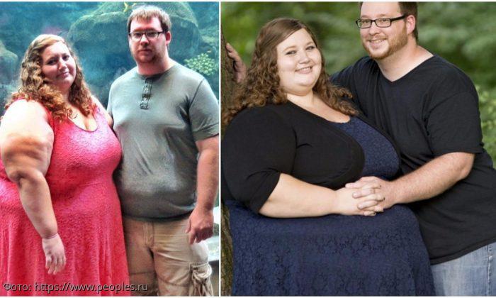 Американка Лекси Рид похудела на 140 килограммов благодаря поддержке своего мужа