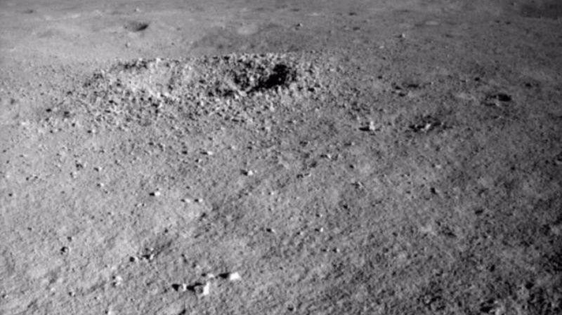 На обратной стороне Луны нашли гелеобразный материал: опубликовано фото