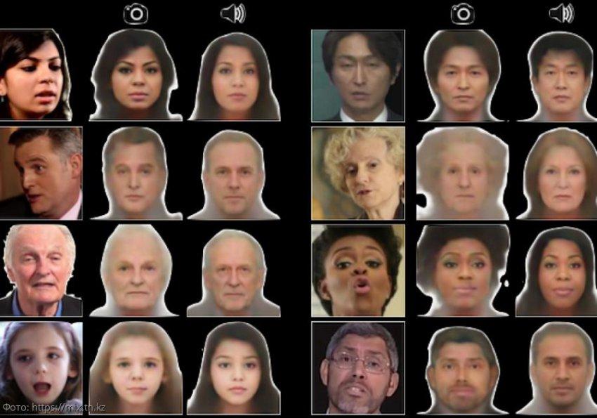 Ученые США создали компьютерные технологии, позволяющие по голосу человека воспроизводить его внешность