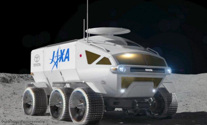 Toyota намеревается создать водородный автобус для поездок по Луне